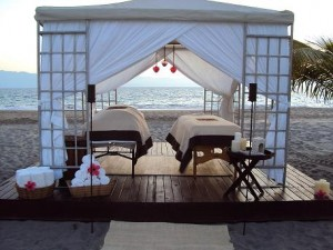 Moonlight Massage Cabin at the Casa Velas Beach Club