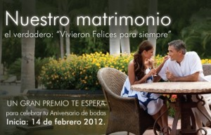 Concurso Facebook - Nuestro Matrimonio