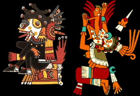 Mictlantecuhtli y Mictecacíhuatl