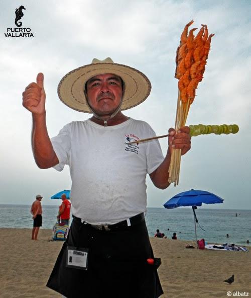 Varitas de camarón Puerto Vallarta
