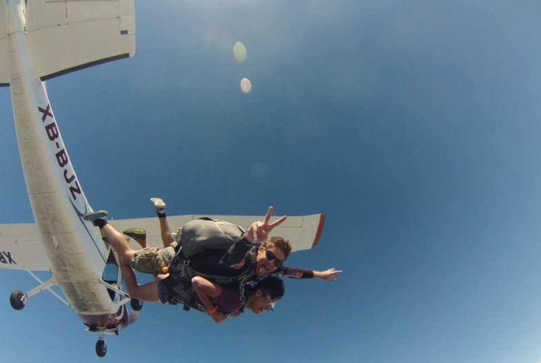 skydive en puerto vallarta