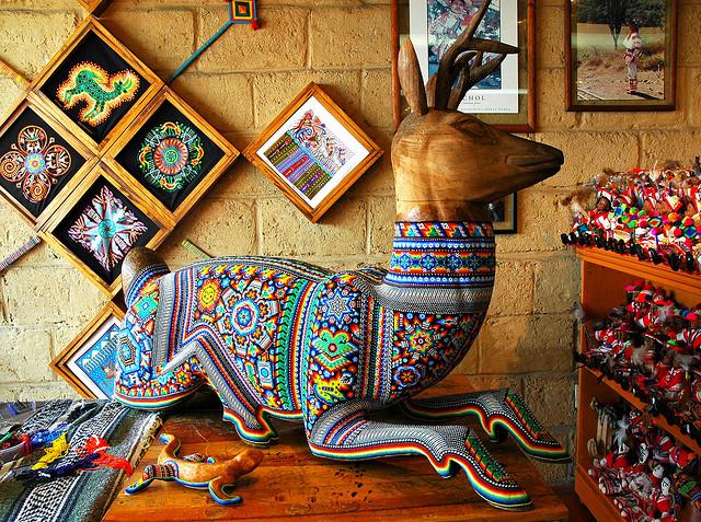 Huichol-art- Vallarta-Travel-Blog
