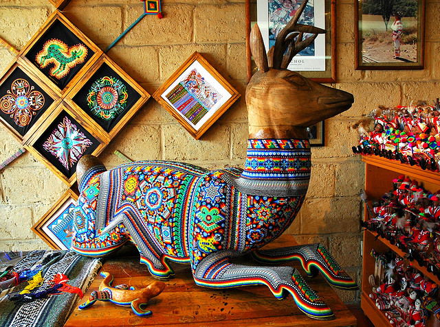 Huichol-art- Vallarta-Travel-Blog