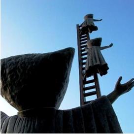 la Escalera de Sergio Bustamante