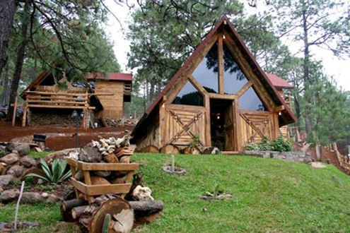 Pueblos m gicos del pac fico vallarta travel blog - Cabanas de madera los pinos ...