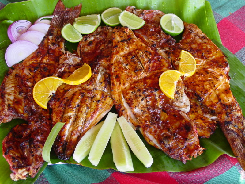 Visit Boca de Tomates and try the delicious Zarandeado fish