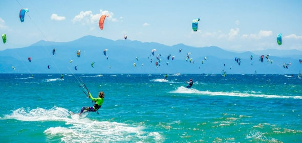 The Riviera Nayarit Wind Festival Kiteboarding Competition