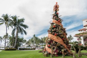 christmas tree, puerto vallarta, riviera nayarit