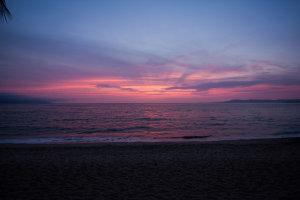 sunsets in puerto vallarta