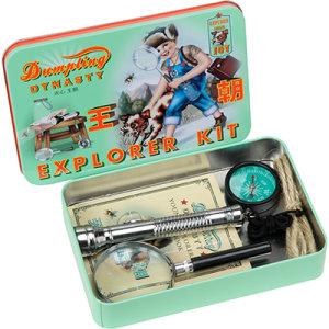 kit explorador para niños
