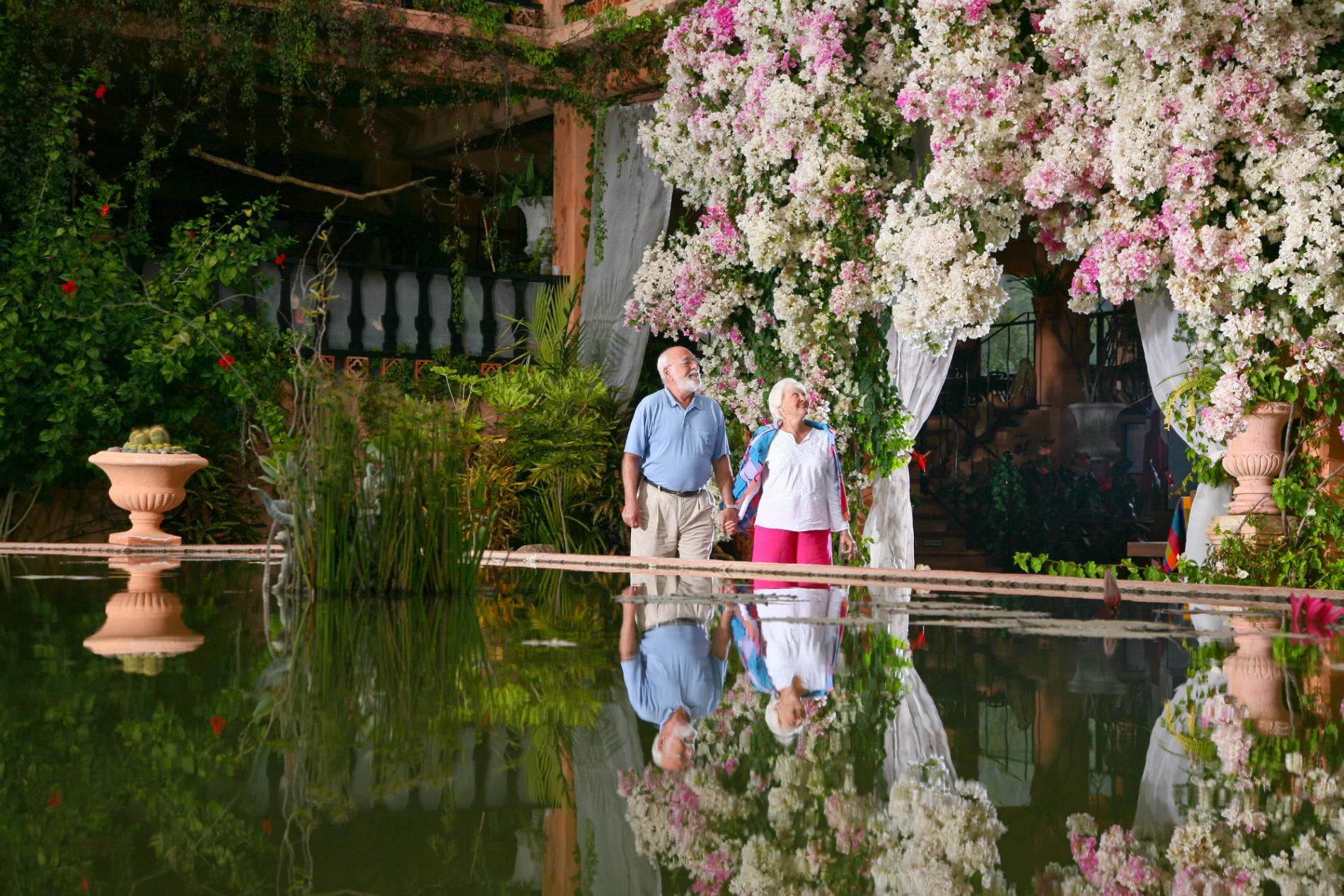 Puerto vallarta botanical gardens are a restful tropical for Botanico jardin