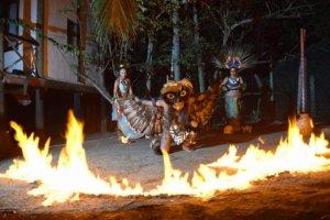 the ceremonial, cocodrilario El Cora