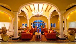 lobby Casa Velas, Hotel boutique todo incluido de lujo en Puerto Vallarta