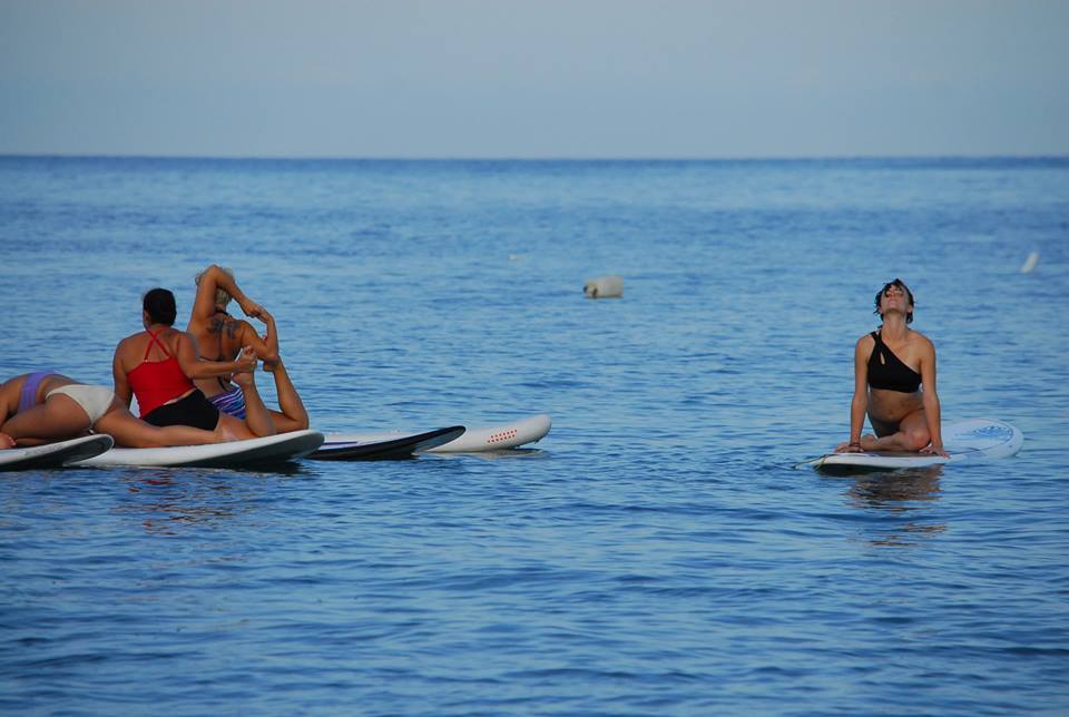 SUP Yoga in Vallarta-Nayarit
