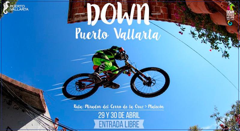 Down Puerto Vallarta 2017, eventos abril vallarta-nayarit