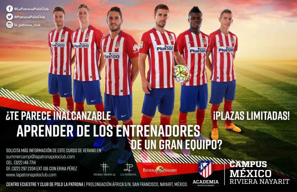 Campamento de Verano del Atlético de Madrid en La Patrona