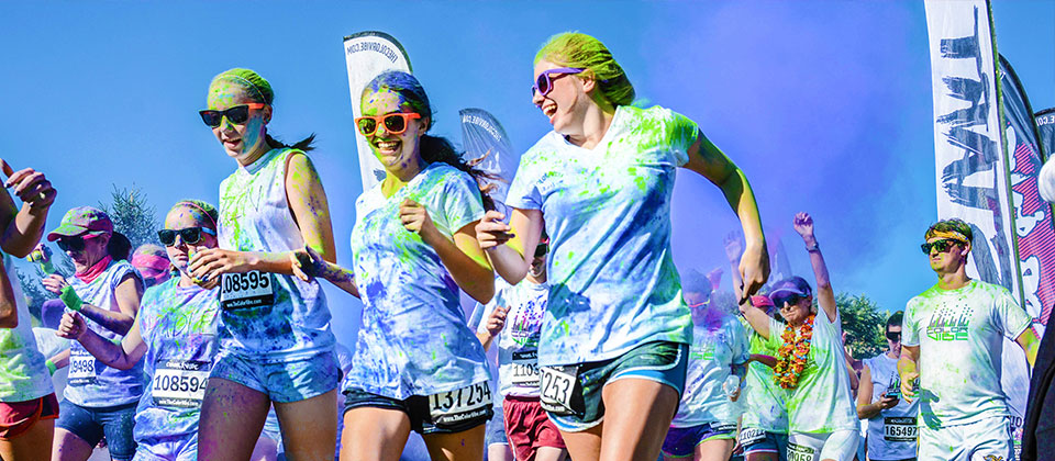 Color Running y Vallarta Color Race