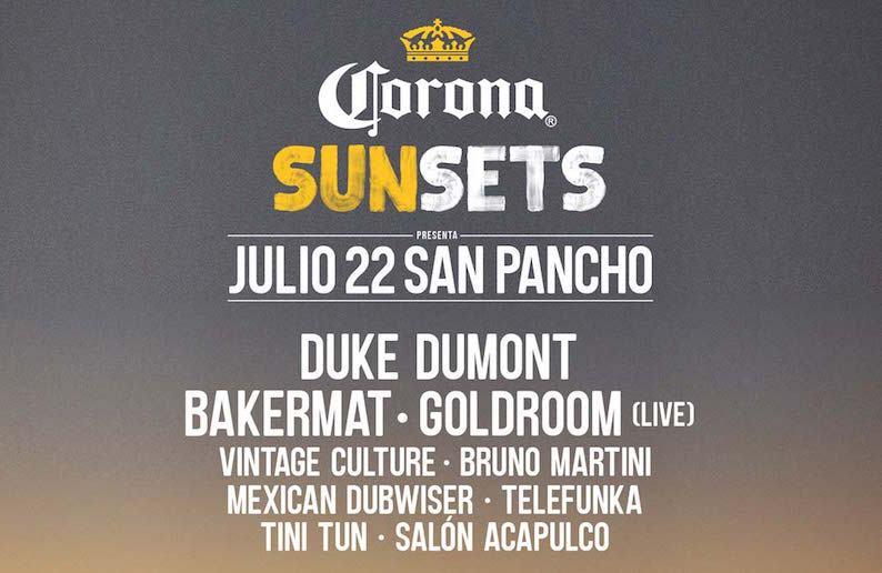 Corona Sunsets San Pancho