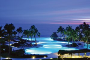 Sunset in Riviera Nayarit, Grand Velas Resort