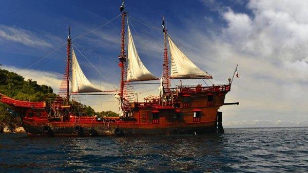 barco pirata Puerto Vallarta