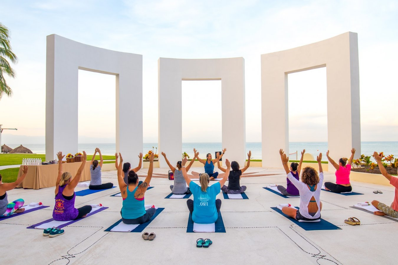 5 inspiring places to practice yoga in puerto vallarta and for Places to do yoga