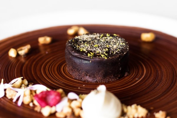 Receta Fondant de Chocolate Restaurante Piaf Grand Velas Riviera Nayarit