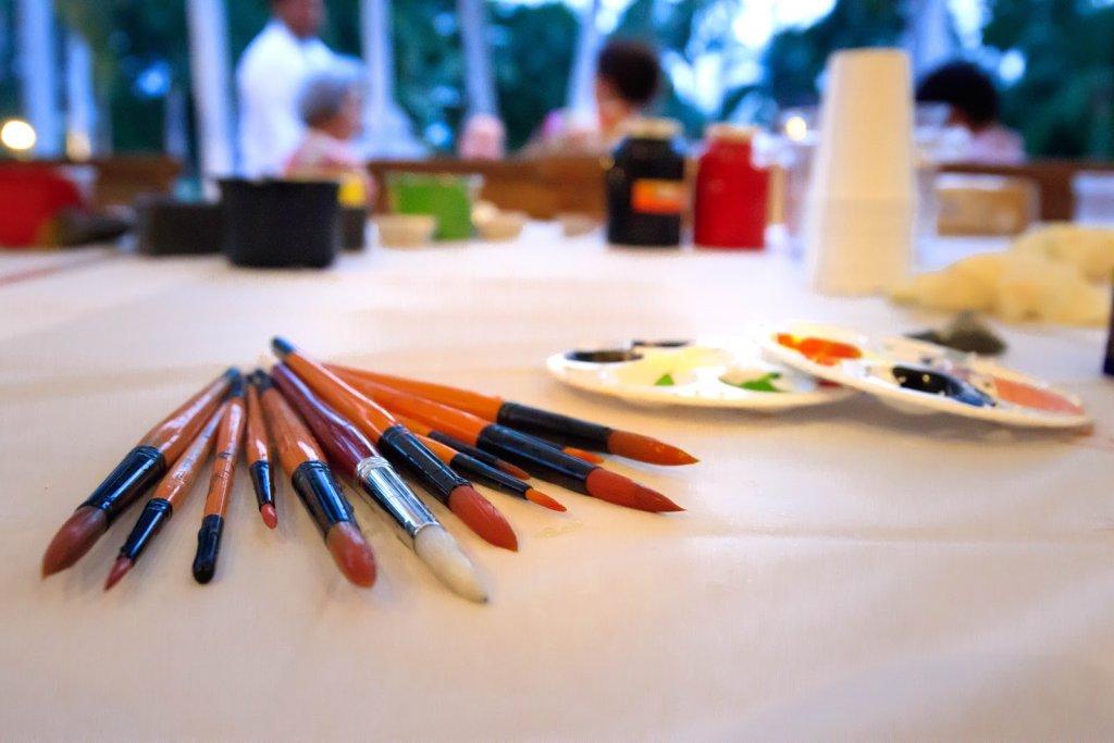 Photo: clases de pintura en Casa Velas