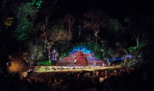 Rhythms of the Night is one of two tours Vallarta Adventures offers to the paradise called Las Caletas. The show is held under the moonlight, allowing you to fully appreciate the fascinating visual effects.