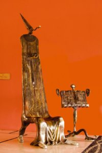 Escultura del Mago de Alejandro Colunga