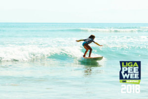 liga pee wee de surfing 2018
