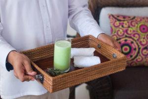 Bebida de Bienvenida en Grand Velas Riviera Nayarit