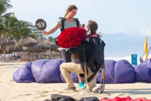 Propuesta Matrimonio en Paracaidas, Grand Velas Riviera Nayarit
