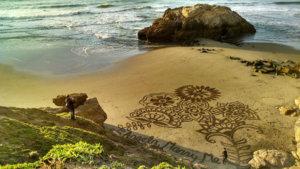 Propuesta de Matriomonio en la Playa sobre la Arena
