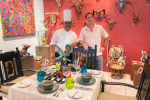 Chef Alejandro Goche. Gallery Art Colectika