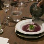 cena de grand velas riviera nayarit los 5 sentidos sobre la mesa