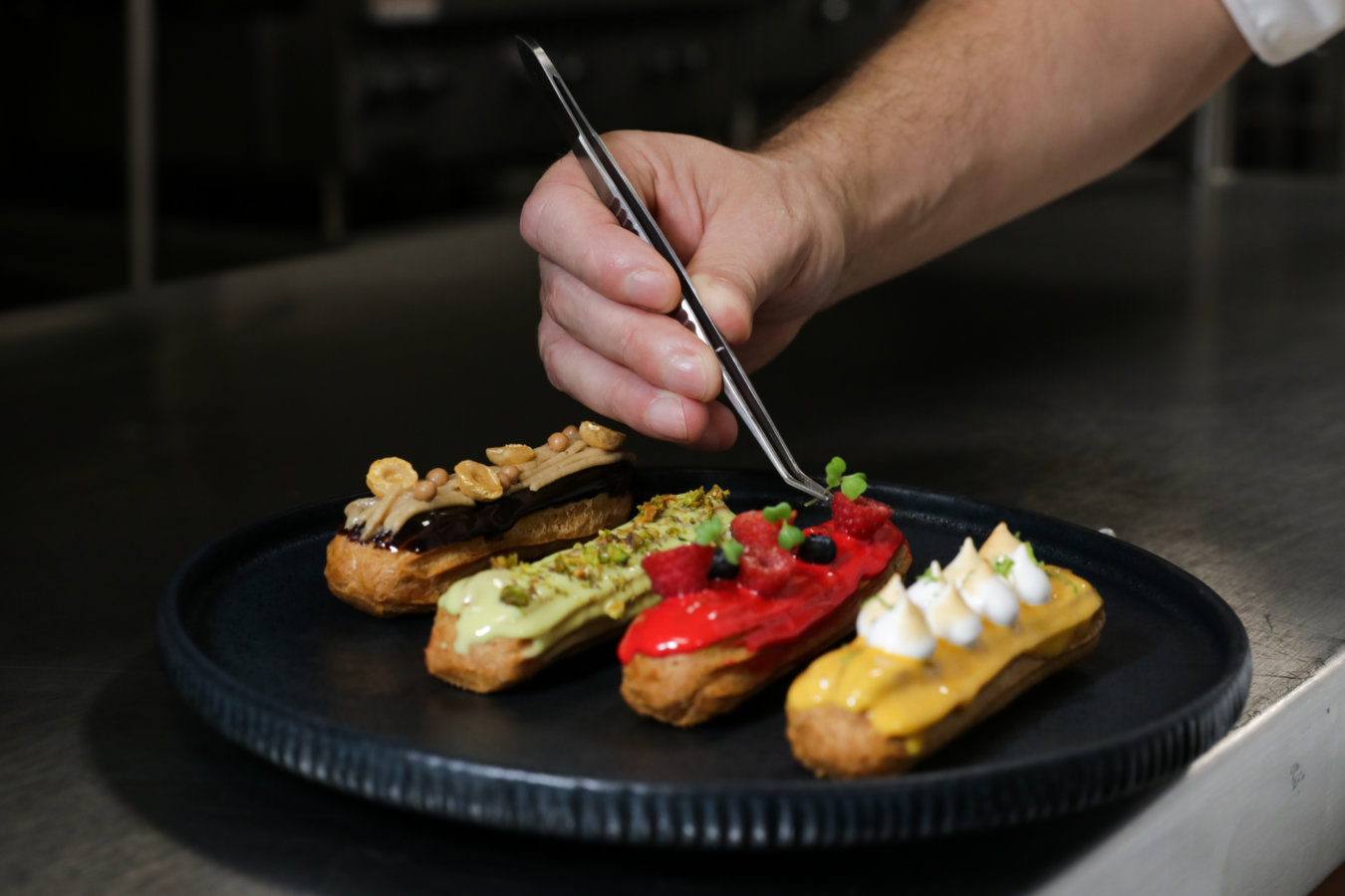 Grand Velas Riviera Nayarit's eclairs you can lear to cook