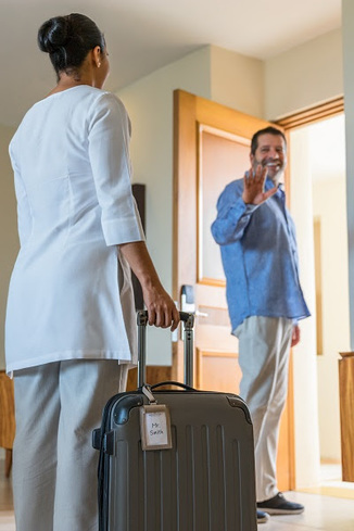 Luggage laundry and storage perk in Grand Velas Riviera Nayarit