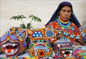 Mexican Huchol Art in Riviera Nayarit and Puerto Vallarta