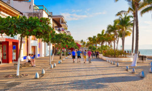 Visit the Malecon of Puerto Vallarta, Mexico